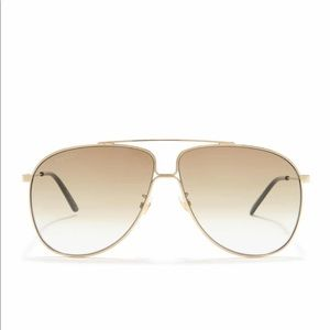 Gucci Accessories - 61mm Gucci aviator sunglasses